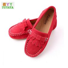 >> Click to Buy << 2017 New Soft Leather Shoes for Girls Breathable Tassel Girls Sneakers Brand Shoes Kids Jeans Denim Casual Child Flat Boots #Affiliate