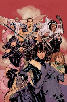 Uncanny X-Men 538 Cover Final by TerryDodson.deviantart.com on @deviantART