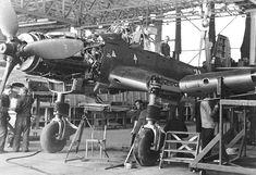 https://flic.kr/p/mxGPbx | Aircraft - Allemagne, Dessau-Roßlau, Usine d'assemblage de Junkers Ju 87 (Sturzkampfflugzeug ou Stuka) | Assemblage des ailes