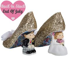 Mr and Mrs wedding shoes