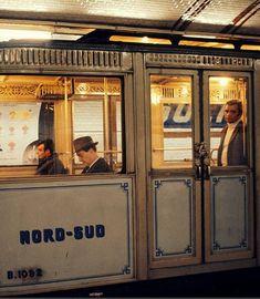 Le metro parisien dans les années 60