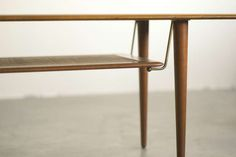 Peter Hvidt, Teak Coffee Table F516 for France & Son, Denmark image 3