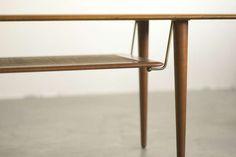 Peter Hvidt, Teak Coffee Table F516 for France & Son, Denmark image 3