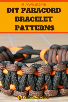 diy bracelets As a survivalist, one of the things you need to know are paracord bracelet patterns. Knowing how to make your own paracord bracelet means that youll be able to carry cordage with you wherever you go. Diy Paracord Armband, Paracord Bracelet Survival, Paracord Braids, Paracord Keychain, Paracord Bracelets, Survival Bracelets, How To Braid Paracord, Yarn Bracelets, Diy Keychain