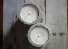 EcoSoy Candles in Concrete Vessels Love Natural, Creative Outlet, Air Plants, Candle Making, Natural Materials, Color Pop, Concrete, Candles, Antiques