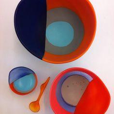 Dream Bowl & Spoon by dinosaur designs. Dinosaur Design, Inspirational Gifts, Spoon, Bowls, Resin, Creativity, Tableware, Amazing, Instagram Posts