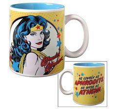 Vandor 75066 Wonder Woman Ceramic Mug, Multicolored, 12-Ounce by Vandor, http://www.amazon.com/dp/B004N8ZINY/ref=cm_sw_r_pi_dp_LS.lrb1AWDEEM