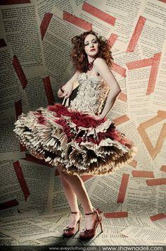 Evey 'Romance Novel Dress' paper