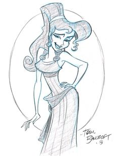 Meg from Hercules by tombancroft on deviantART