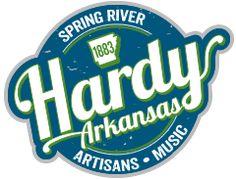 Shops in Hardy, Arkansas