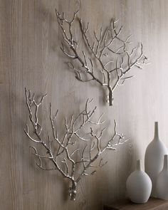 Horchow Arteriors Tree Branch Wall Decor - home decor / furniture / hanging artwork