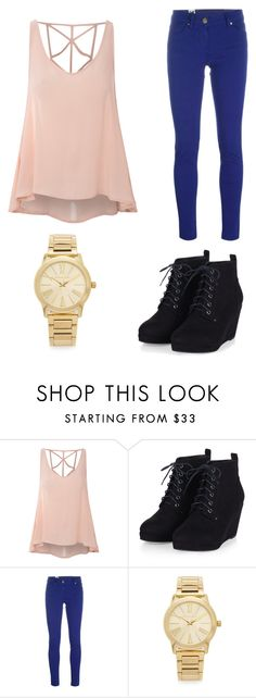 """""""Cute 'n Trendy"""" by aflanders-933 ❤ liked on Polyvore featuring Glamorous, M Missoni and Michael Kors"""