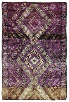 Purple rug...Beautiful!!!