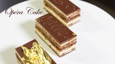 Delicate French Opera Cake This is an incredible, unique cake recipe that is actually a lot easier to make than it might seem. The sponge cake layers are light and delicate and it gives an airy, ye… Chocolate Glaze, Melting Chocolate, Chocolate Eclairs, How To Make Tiramisu, Opera Cake, Coffee Buttercream, Donuts, Cake Recipes, Dessert Recipes