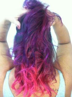 A saga do cabelo rosa...