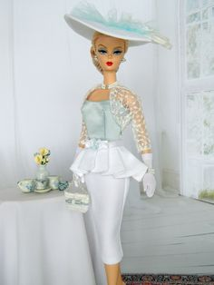OOAK Easter/Spring Fashion for Silkstone/Vintage & Fashion Royalty Dolls by Joby Originals