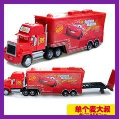 Hot Sale Cartoon Cars Pixar Cars Truck McQueenes Diecast 1:55 Metal Toy Car Model Children Toy
