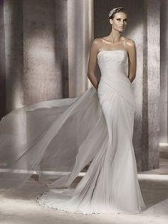 Pronovias, abiti da sposa 2012, modello Palau