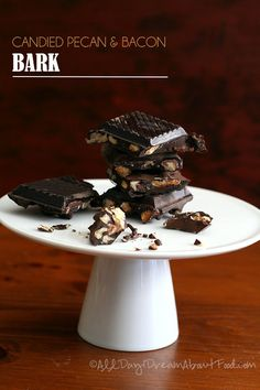 #LowCarb Candied Pecan & Bacon Bark Shared on https://www.facebook.com/LowCarbZen