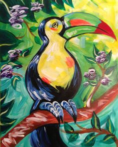 Tucan! April 28 - 11AM. Hurry and sign up as only 10 spots left! shop.theurbanartbar.com