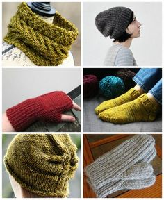 Single Skein Patterns - Free! Chunky Weight