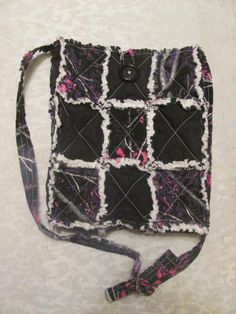 Muddy Girl and Black Inspired Crossbody by morethanbearscrafts