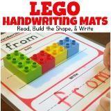 Linked to: thisreadingmama.com/lego-handwriting-mats-read-build-and-write/