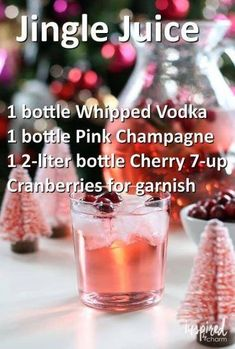 christmas cocktails jingle juice – Xmas Ideas Pin by Kate … christmas cocktails jingle juice – Xmas Ideas Pin by Kate Polselli on Fun and festive drinks in 2019 … christmas cocktails jingle juice Christmas Cocktails, Holiday Drinks, Party Drinks, Cocktail Drinks, Fun Drinks, Yummy Drinks, Cocktail Recipes, Holiday Recipes, Beverages