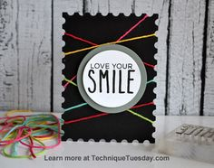 Story Card Sunday: Love Your Smile