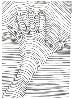 Pin for Later: 50 Printable Adult Coloring Pages That Will Make You Feel Like a Kid Again Get the coloring page: Hand lines Supplies Tutorial Art Drawing Illusion Kunst, Illusion Art, Printable Adult Coloring Pages, Free Coloring Pages, Colouring Pages For Adults, Coloring Books, Coloring Sheets, Hand Coloring, Op Art Lessons