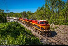 RailPictures.Net Photo: KCS 4786 Kansas City Southern Railway GE ES44AC at Independence, Missouri by Zach Pumphery