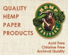 Hemp Paper, Seed Paper, Tree-free Paper from Green Field Paper Company