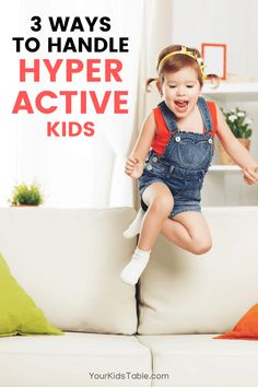How to Handle a Hyperactive Child without Losing Your Mind - Your Kid's Table Parenting Advice, Kids And Parenting, Hyperactive Child, Sensory Disorder, Autism Sensory, Foster Mom, Good Mental Health, Kids Behavior, Exercise For Kids