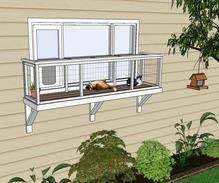 Window Box DIY Catio Plans by Catio Spaces