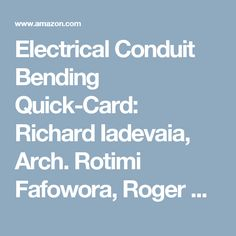 Quick card electrical blueprint symbolsfull color 4 page electrical conduit bending quick card richard iadevaia arch rotimi fafowora roger malvernweather Images
