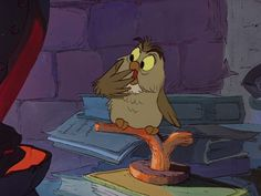 Archimedes from The Sword in the Stone