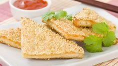 Prawn toast is incredibly easy to make yourself and so delicious it's almost criminal! This recipe for prawn toast is prepped in just ten mins too! Best Seafood Recipes, Prawn Recipes, Wine Recipes, My Recipes, Cooking Recipes, Cooking Fish, Asian Cooking, Prawn Toast Recipe, Shrimp Toast