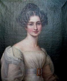 ca 1800 to 1820. S.A.I. Imperatriz do Brasil Dona Amelia de Leuchtemberg