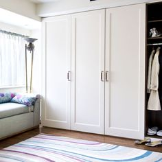 Dressing room storage   Bedroom storage   storage ideas   Bedroom   PHOTO GALLERY   25 Beautiful Homes   Housetohome