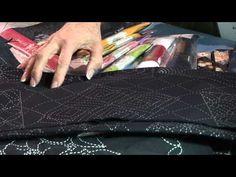 Getting Started Stitching Sashiko - YouTube