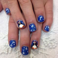 """My starlight penguin ✨"" Photo taken by @professionalnailss on Instagram, pinned via the InstaPin iOS App! http://www.instapinapp.com (12/10/2015)"
