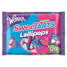 Wonka Sweetarts Valentine's Day Lollipops, Bags (Pack of Savory Snacks, Yummy Snacks, Blue Bunny Ice Cream, Candy Birthday Cakes, Disney Coffee Mugs, Sweetarts, Candy Dispenser, Mini Donuts, Bulk Candy
