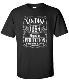 30th Birthday Gift For Men and Women  Vintage by SHIRTSnGIGGLES