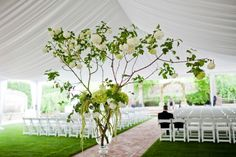 Hochzeit Location Zelt draußen feiern
