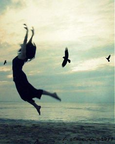 I am a free spirit. Either you admire me from the ground or fly with me .... but do not try to put me in a cage..!!