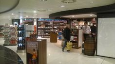 World of Whisky and Chanel - Glasgow International Airport.