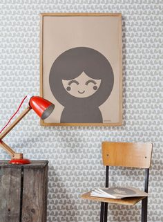 Rachel Powell is a surface pattern and wallpaper designer. You might have seen some of the prints and wallpapers by her before, but it was this screenprint above that really caught my eye .. i love the simplicity and the...