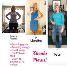 My personal Plexus journey. http://www.shopmyplexus.com/darcydame