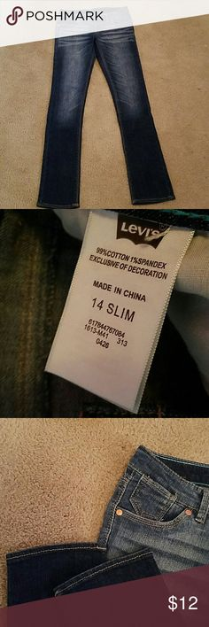 Girl 14 slim Levis NWOT New Levi's. Never been worn Levi's Bottoms Jeans