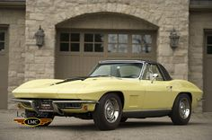 View our current classic cars, muscle cars, vintage cars and performance cars for sale. Corvette C2, Classic Corvette, Chevrolet Corvette, Yellow Corvette, Classic Chevrolet, Chevy Muscle Cars, Yellow Car, Truck Interior, Mustang Cars